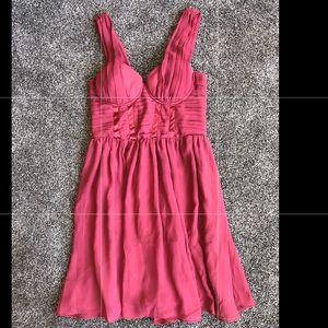 Plum colored dress!